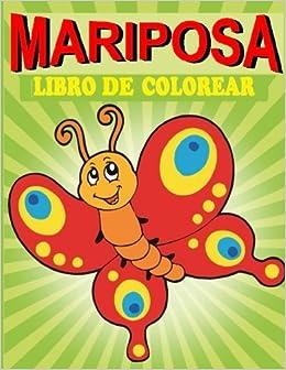 Mariposa Libro De Colorear Mariposa Libro De Colorear