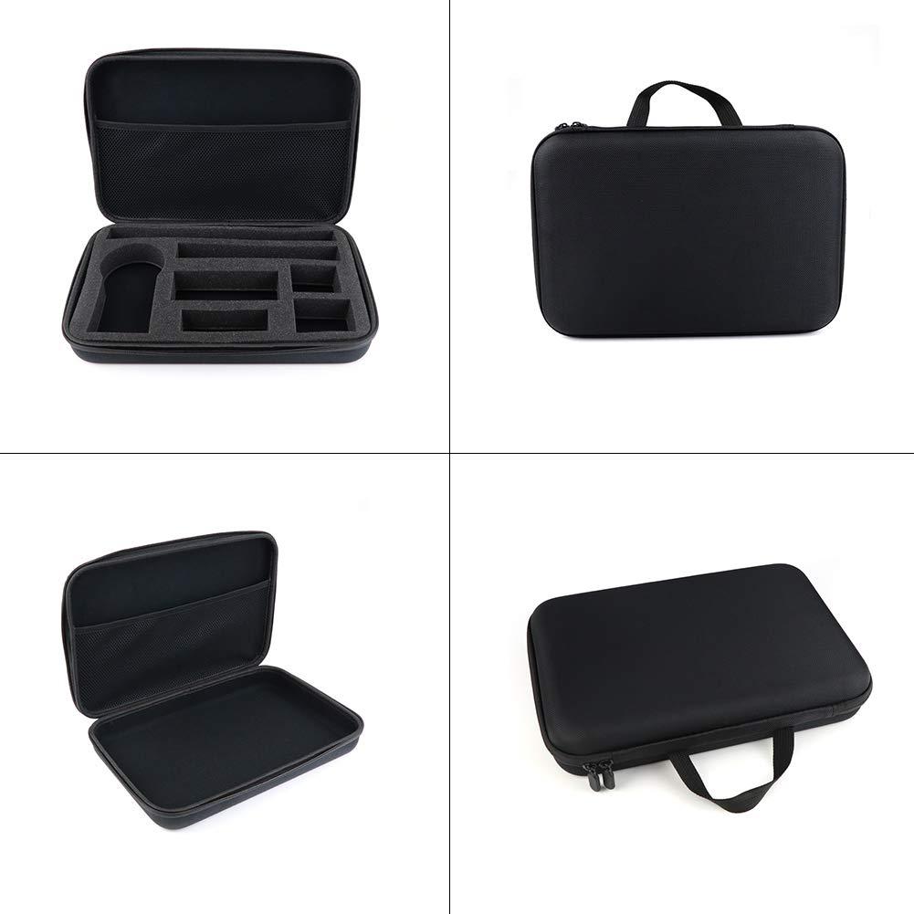 benefit-X ポータブルミニ保護キャリーケース Insta360 ONE X 360ストレージバッグ フォームパッド付き アクションカメラ 耐衝撃性 アクセサリー ストレージバッグ 12.6 8.46 2.56インチ B07QH1DVT1
