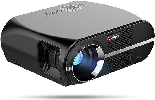 Proyector, 3500 Lúmenes Proyector De Video HD LCD Soporte para ...