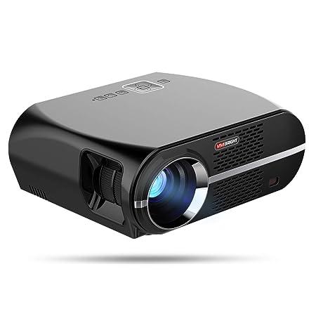 H.L Proyector, 3500 lúmenes Video proyector HD LCD Cine en casa ...