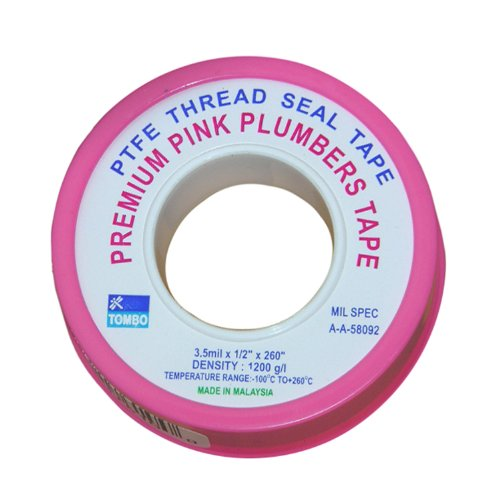 UPC 052151223388, LASCO 11-1030 1/2-Inch by 260-Inch High Density PTFE Thread Seal Tape, Pink