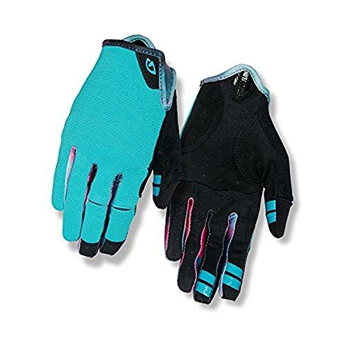 Giro 2018 Women's LA DND Full Finger Cycling Gloves (Glacier/Tie-Dye - XL)