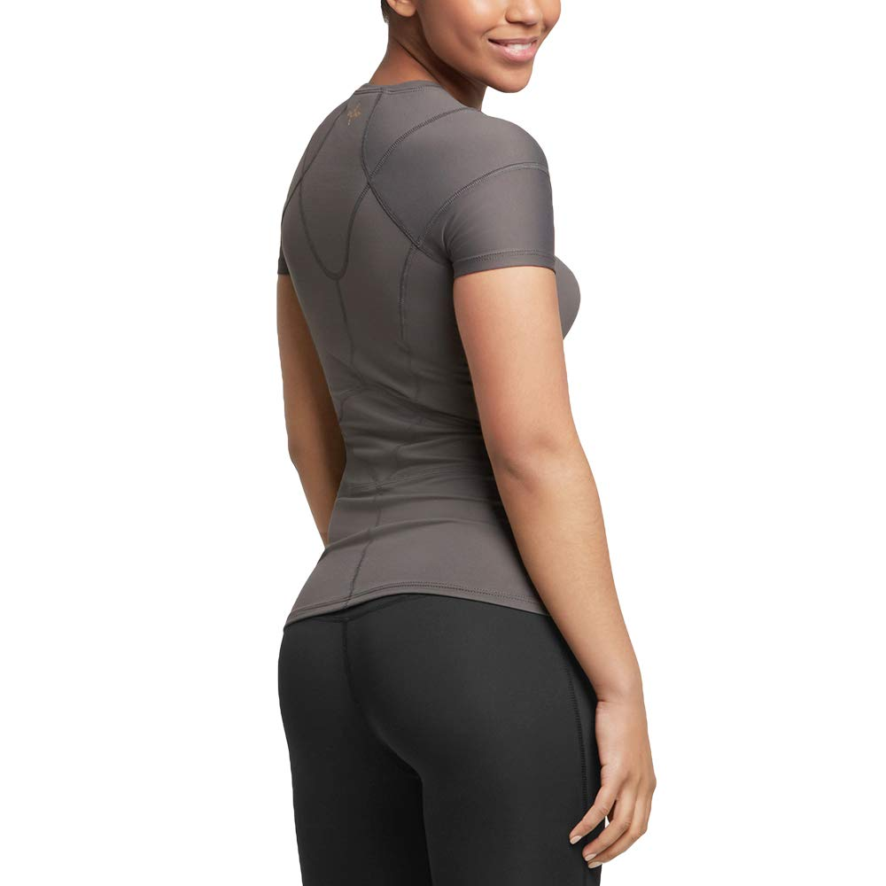Tommie Copper Women's Pro-Grade Shoulder Centric Support Shirt, Slate Grey, Medium by Tommie Copper (Image #7)