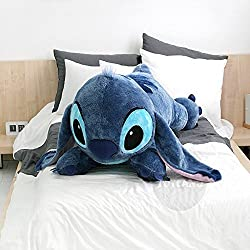 Disney Stitch 120cm(47.2inch) Lilo and Stitch Lying Big...