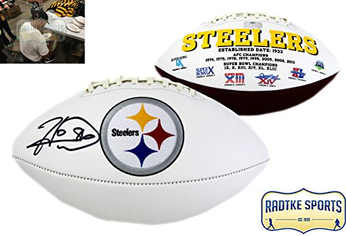 Hines Ward Autographed/Signed Pittsburgh Steelers Embroidered NFL (Autographed Hines Ward)