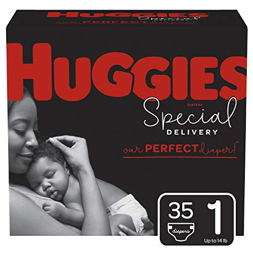 Huggies Special Delivery Hypoallergenic Diapers, Size 1 (8-14 lb.), 35 Ct, Jumbo Pack