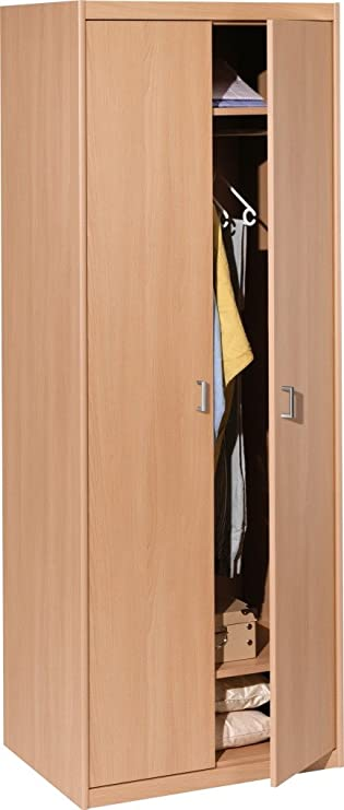CS Schmalmöbel 55/79 Kleiderschrank 79 Soft Plus Buche (72x194x54 ...