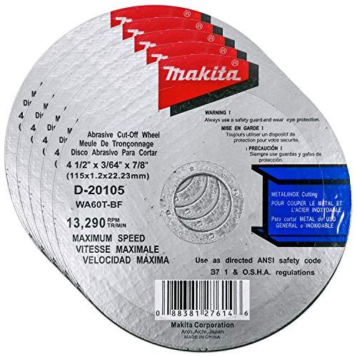 Makita 5 Pack 4.5