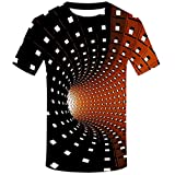 3D Graphic Short Men's Funny Printed Summer Tops