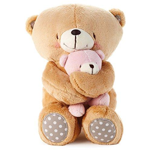 (Hallmark Forever Friends Girl Snuggle Bear Set )