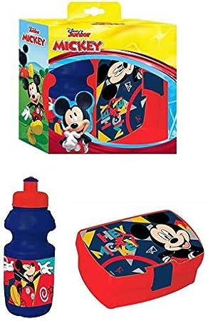 FACTORYCR- Set cantimlora y sandwichera Mickey, (562247)
