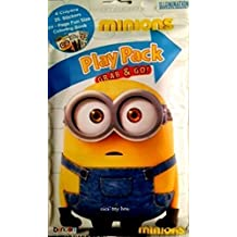 Minions Movie Play Pack: Crayons Stickers & Coloring Book