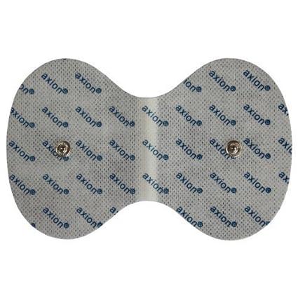 Electrodo cuello para VITALCONTROL BEURER - Parches especial para la electroestimulación cervical - conexión de botón