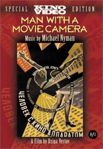 Man With a Movie Camera (With Camera Dvd Movie The Man)