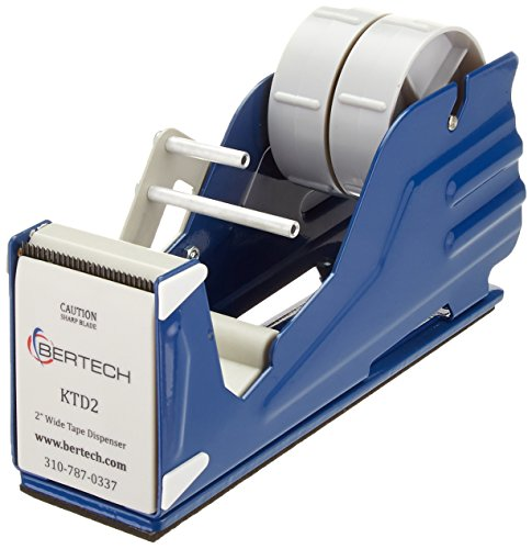 "Bertech General Purpose Tape Dispenser, For 2"" Wide Tapes from Bertech"