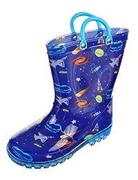 LILLY Boys' Light-up Rain Boots