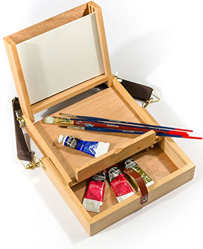 Small Pochade Box to take 203 x 152mm (8'' x 6'') Painting boards by Frisk