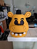 Golden Freddy FNAF Halloween/Costume Mask! Movable Jaw!! Five Nights at Freddy's!