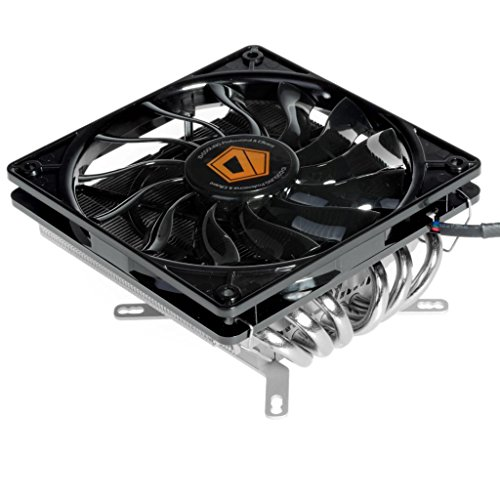 ID-COOLING IS-60 TDP 130W Low Profile CPU Cooler With 6 Heatpipes, 120mm Fan, Compatible with Intel LGA1150/1155/1156/775 & AMD FM2+/FM2/FM1/AM3+/AM3/AM2+/AM2