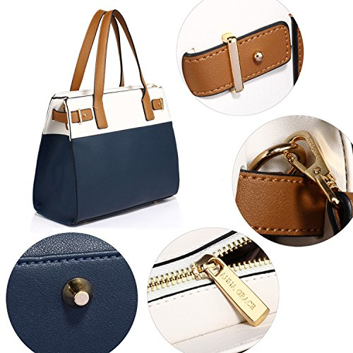 Xardi London, Borsa tote donna Navy/White