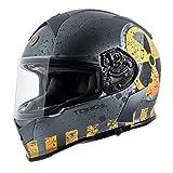 Grey Motorcycle & Powersports Helmets