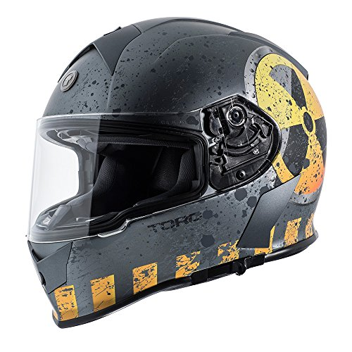 Torc T14 Mako Full Face Motorcycle Helmet With Graphic (Nuke)