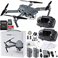 DJI Mavic Pro Collapsible Quadcopter Dual Operator Essential Bundle