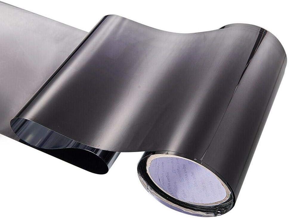 Rlorie Car Film UV Shade DIY Sticker Banner Black//Green Aluminum Foil Sun Shade Front Window Film Solar Car Window Sun Visor Strip Tint 150 /× 20CM admired