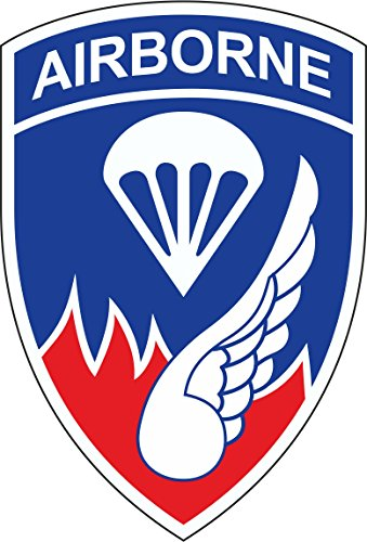 MilitaryBest 187th Infantry Regiment Airborne Patch 3.8 Inch (187th Airborne Patch)