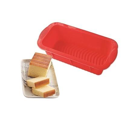 SWEET CANDY BAKERY Rectangular para Tarta - Molde de Silicona ...