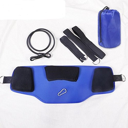 WellnessPro Hammock for Neck New Blue Design/New Super Soft and Comfortable Pads/Cervical Neck Traction Device Great for Neck Pain (New Cervical Neck Traction)