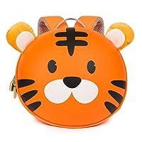 Boppi Tiny Trekker Kids Backpack Travel Holiday Bag 4 Litre Rucksack - Tiger