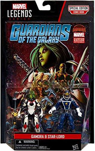 Marvel Legends Gamora & Star Lord Action Figure 2-Pack