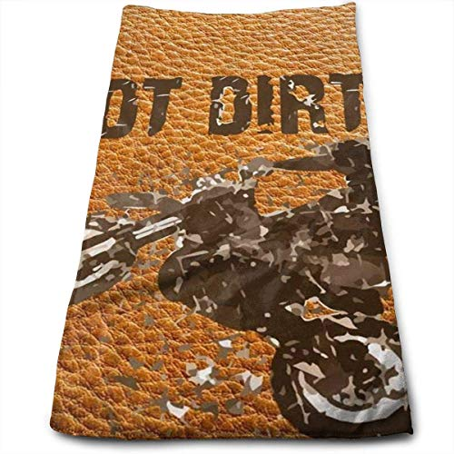 Nickel Towel Purist (Got Dirt Bike Motorcross Racing Unique 100% Cotton Towels Ultra Soft & Absorbent Bathroom Towels - Great Shower Towels, Hotel Towels & Gym Towels)