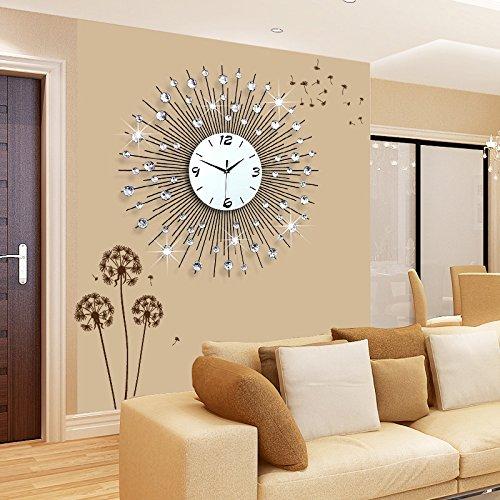 Amazon.com: CGGGHY Stylish Living Room Wall Clock Creative ...