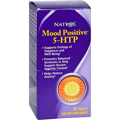 Natrol 5 HTP Positive Tablets count