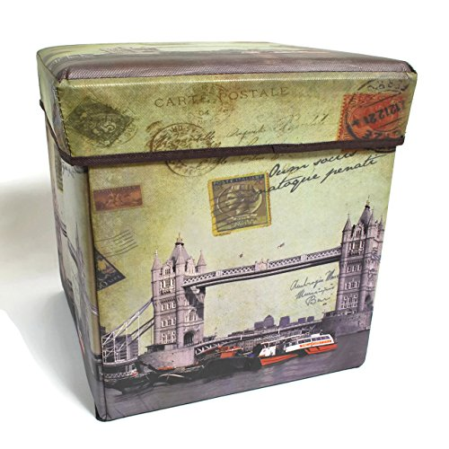 Inymall Home Interior Storage Ottoman Big Ben Design