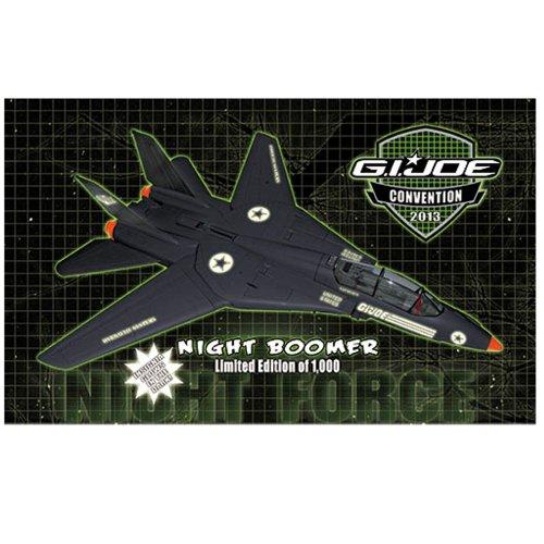 G.I. Joe Night Force Night Boomer GI Joe Convention Exclusive Glow In the Dark Jet