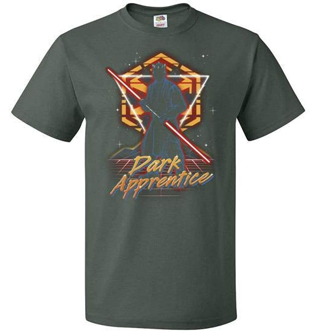 Retro Dark Apprentice Unisex T-Shirt Adult Pop Culture Graphic Tee Nerdy Geeky Apparel