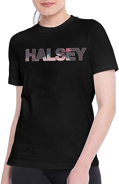 Camisa Deportiva de Manga Corta para Hombre, T Shirts for Women Classic Halsey Badlands Tshirt Black: Amazon.es: Ropa y accesorios