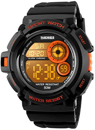 Best Fanmis Exercise Watches - Mens Military Multifunction Digital Watches 50M