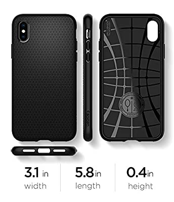 Spigen Liquid Air Armor iPhone X Case with Durable Flex and Easy Grip Design for Apple iPhone X (2017) from Spigen