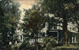 Residence of Judge Tapping Reeve - 1773 - Founder of First Law School in America Original Vintage Postcard