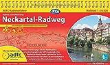 ADFC-Radreiseführer Neckartal-Radweg 1:50.000 praktische Spiralbindung, reiß- und wetterfest, GPS-Tracks Download: Von Villingen-Schwenningen nach Mannheim