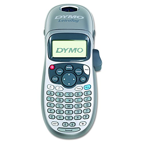 (DYMO LetraTag 100H Plus Handheld Label Maker for Office or Home)