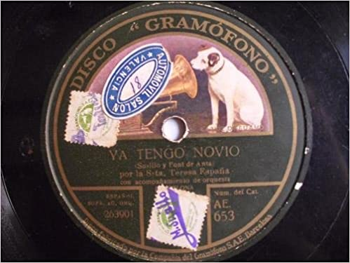 Antiguo Disco Pizarra - Old Disc Slate: TERESA ESPAÑA : Ya ...