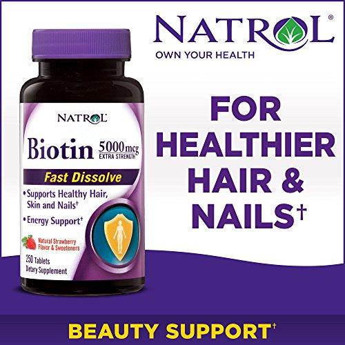 Natrol Biotin Strength Dietary Supplement