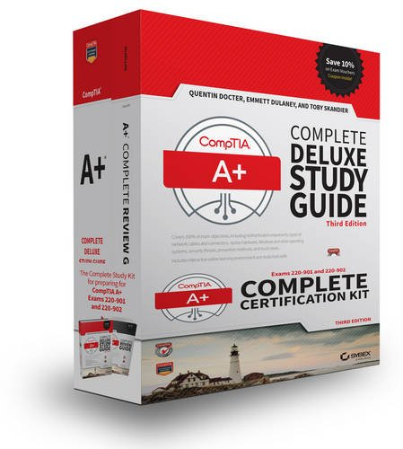 Comptia A  Complete Certification Kit  Exams 220 901 And 220 902