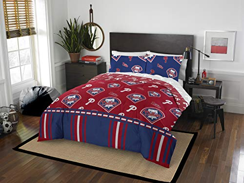 (Official PhiladelphiaPhillies Queen Bed in Bag Set)