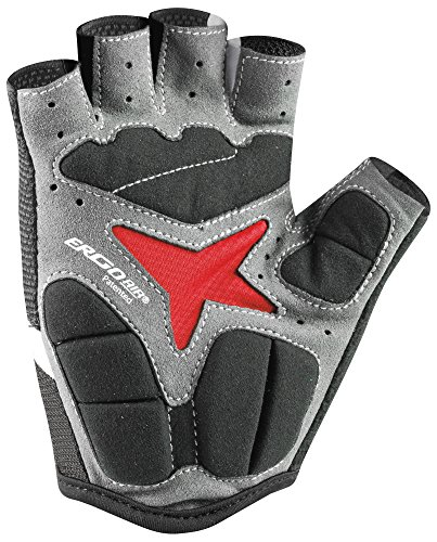 Louis-Garneau-Mens-Biogel-RX-V-Gel-Padded-Breathable-Shock-Absorbing-Half-Finger-Mesh-Bike-Gloves